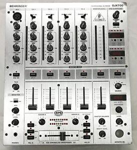 behringer djx700 professional 5 channel dj mixer with digital rh ebay com behringer mixer manual download behringer mixer manual download