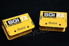 Radial SGI Studio Guitar/Bass Interface System Line Driver *Up To 300 FT!*