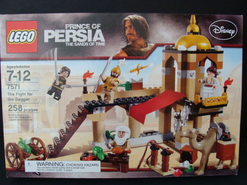 NEW LEGO Prince of PERSIA The The The Fight For the Dagger 7571 Camel Alamut Market NIB e8be14