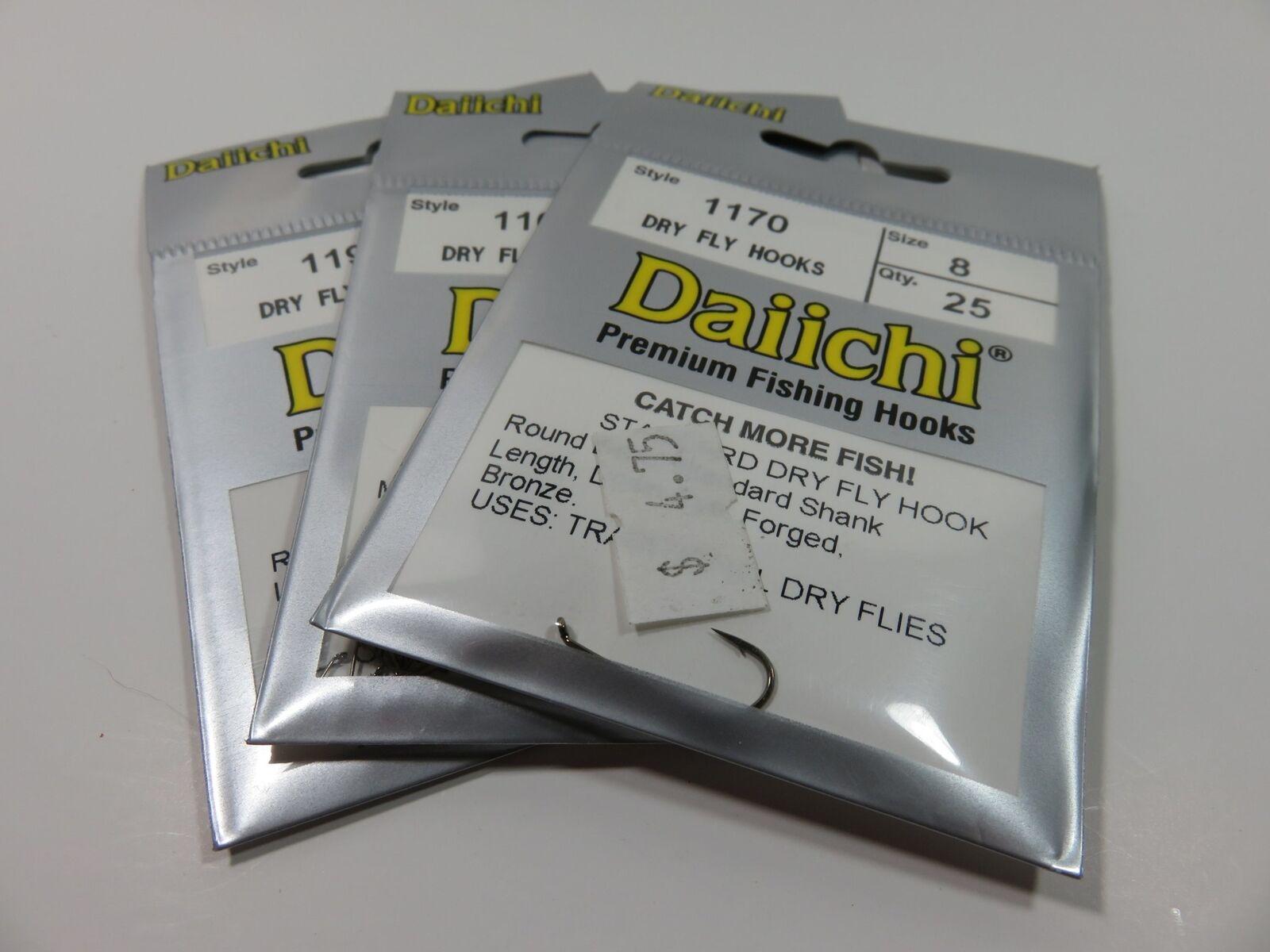 Daiichi 1140 Curved Up-Eye Scud Hook