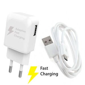 CARICABATTERIA-COMPATTO-USB-2-1-AMPERE-CAVO-MICRO-USB-FAST-CHARGE-CARICA-VELOCE