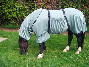 Details About Sweet Itch Rug Made To Measure 10hh 16hh Sweech