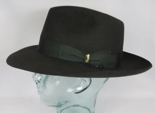Qualità Fedora Superior Origi Feltro Bogart Antracite Cappello Borsalino Neu Ha xwtEA6EqY