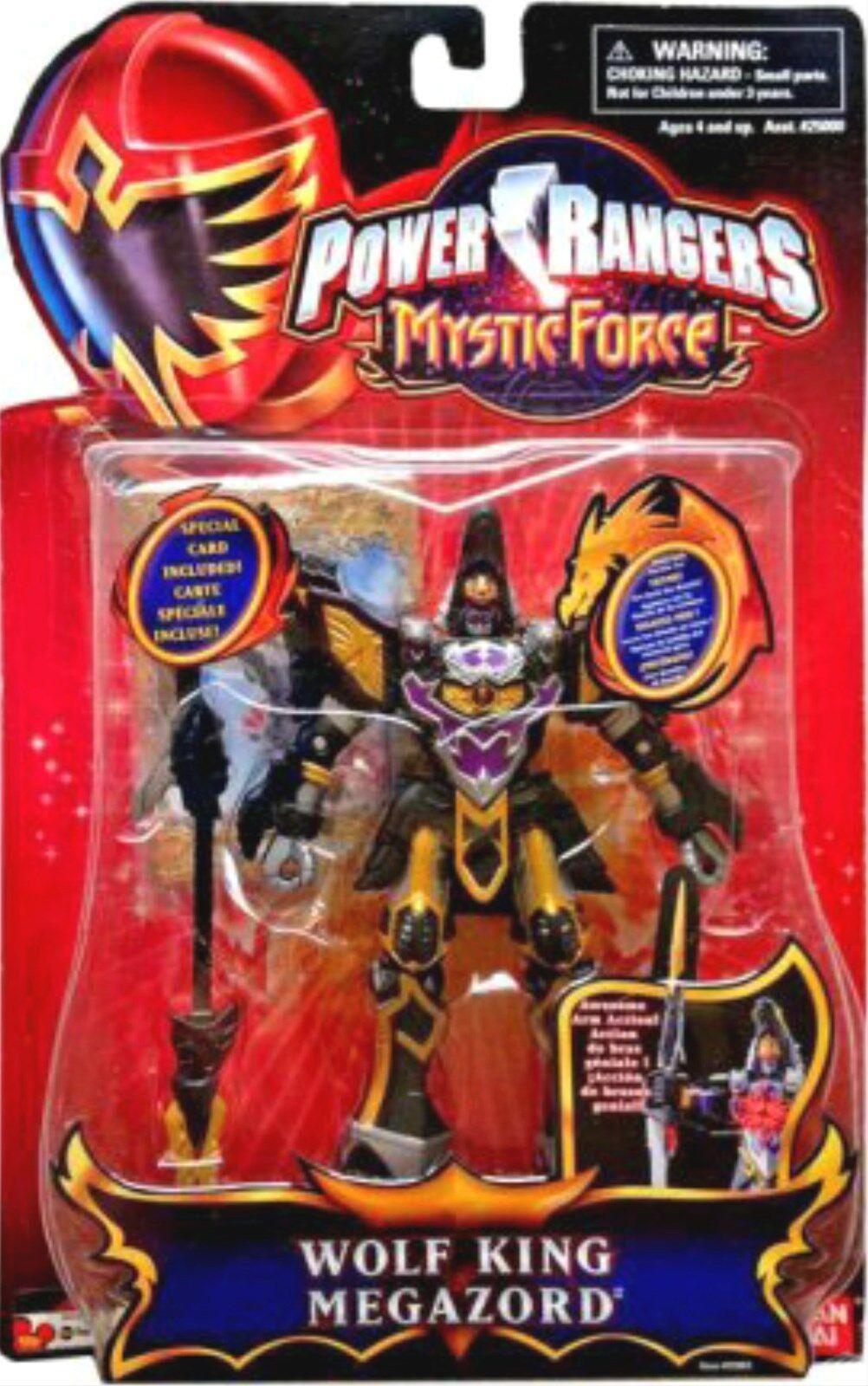 mejor calidad Power Rangers Mystic Force 6  Caballero Rey Lobo Lobo Lobo Megazord Lightup Ranger 2006 Nuevo  muchas sorpresas