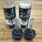 New 8000K D2S D2R D2C HID Xenon Bulbs Replace Factory HID Headlight Pair