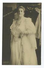 Marie Brema - English Dramatic Mezzo-Soprano Singer - Silver Print Postcard