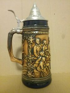Vintage Beer Stein Gerz West Germany by cynthiasattic on Etsy |Vintage West Germany Beer Steins