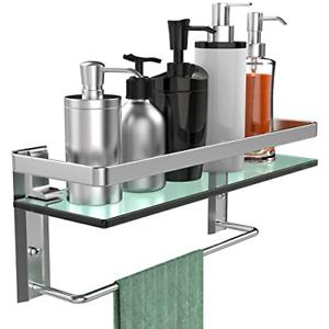 GeekDigg-Bathroom-Shelf-Tempered-Glass-Floating-Shelves-Wall-Mounted-Storage