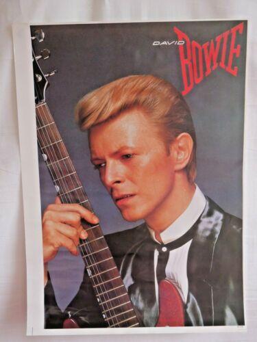Poster David Bowie Vintage Unused Stock