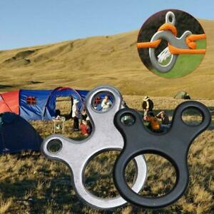 Quick-Knot-Tent-Wind-Rope-Buckle-3-Hole-Antislip-Outdoor-Hook-Tightening-Ca-I9P1