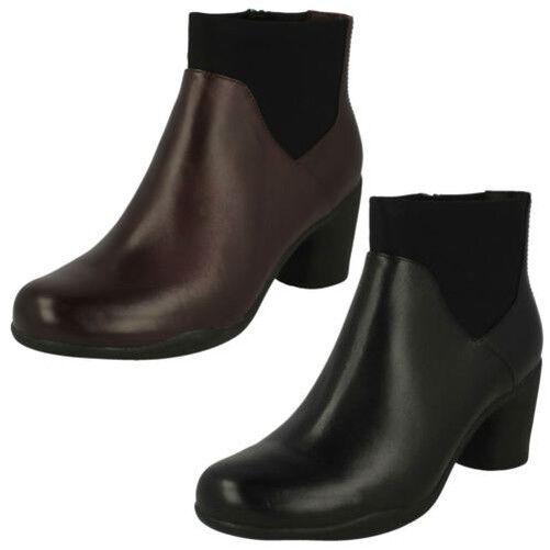vendita all'ingrosso Donna Clarks Alla Moda Stivali Caviglia un rosa Medio Medio Medio  negozio online outlet