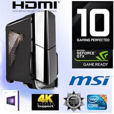 Gamer PC Intel I7 7700K 4x4,50Ghz-32GB-Nvidia GTX1080Ti 11GB Gaming-Win10-SSD