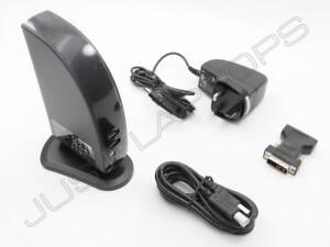 Lenovo-Nuovo-Windows-Vista-USB-2-0-Docking-Station-con-DVI-Video-Inc-Psu