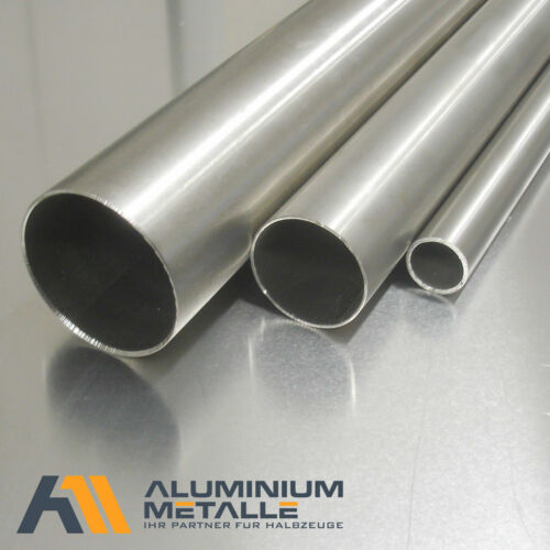 Stainless Steel Pipe VA v2a length choose design pipe 1.4301 sanded Profile