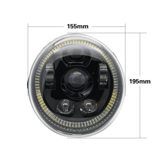 For HARLEY DAVIDSON V-ROD Halo DRL LED CONVERSION HEADLIGHT VRSC Muscle