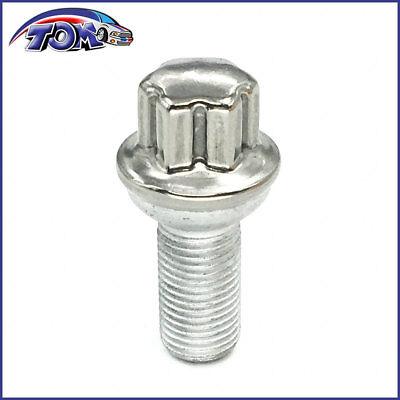 MGPRO 10pcs SS 2 Wheel Lug Bolt Nut Kit For Mercedes-Benz C207 W204 W212 W221 C180 200 230 250 300 350 500 550 600 280 320 430 450