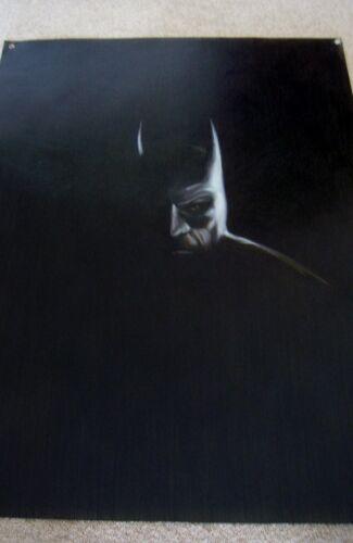 Batman oil painting 20x14 unframed Dark Knight Joker Bane Gotham Robin Nightwing