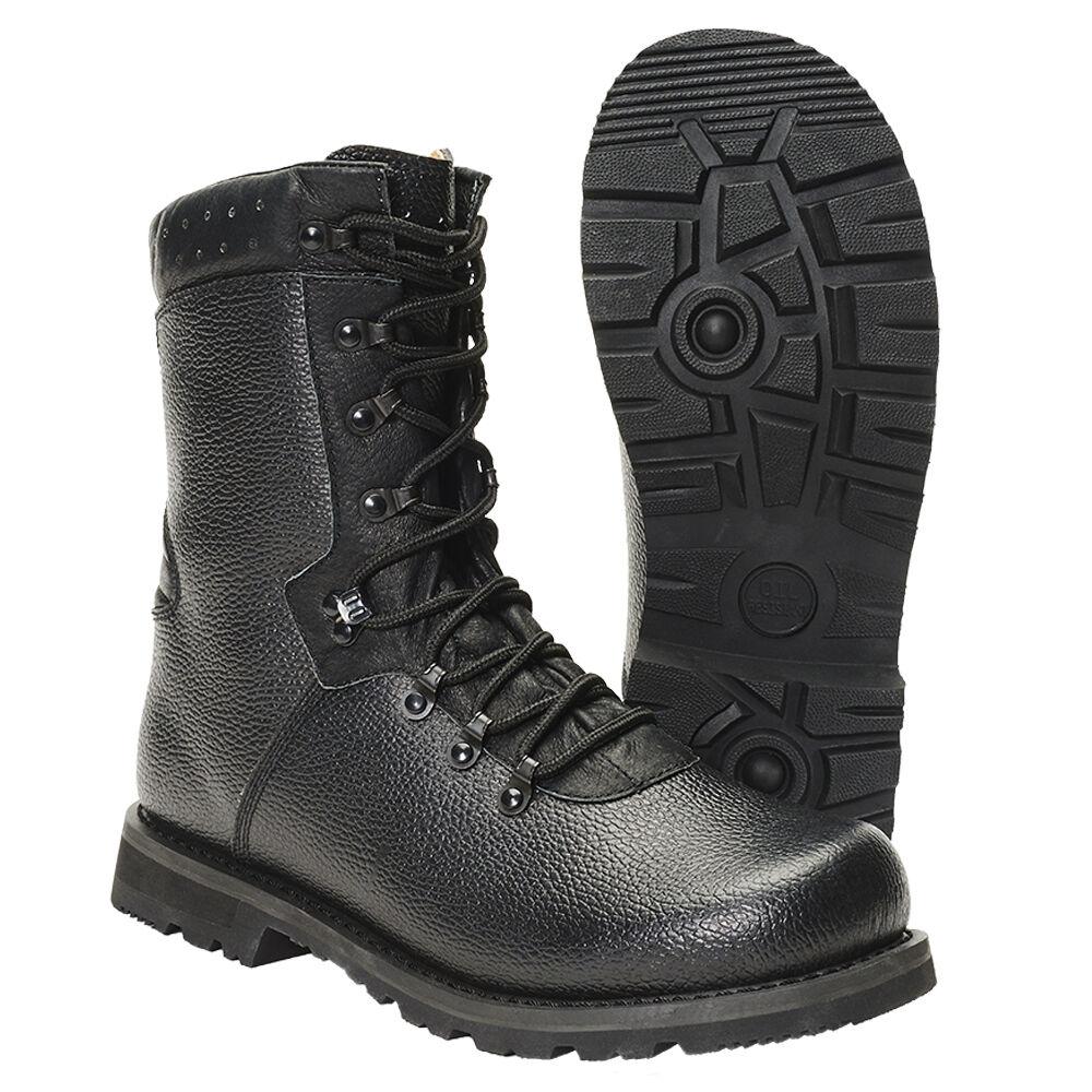 Brandit Cuero botas de Combate 2000 Militares Ranger Calzado Trabajo