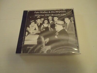 Big Band Music CD Fats Waller & His Rhythm 1936 -1941 New ...