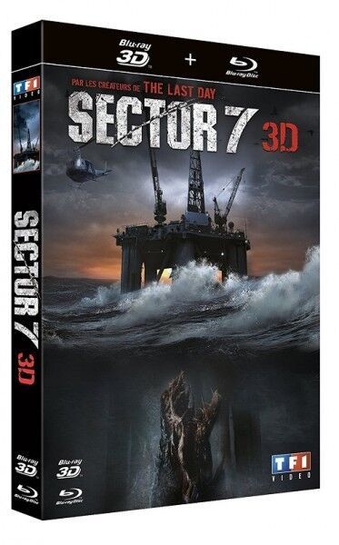 Sector 7 (BLU-RAY 3D) NEUF SOUS BLISTER