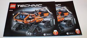 Lego-Technic-42038-Arctic-Truck-mit-BA-TOP-Zustand