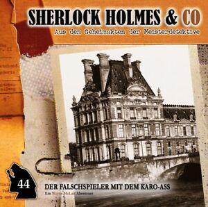 DER-FALSCHSPIELER-MIT-DEM-KARO-ASS-FOLGE-44-SHERLOCK-HOLMES-amp-CO-CD-NEW