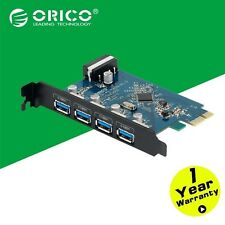 ORICO 4 Port PCI-E to USB 3.0 Super Speed PCI Express Card Adapter VL800 For PC
