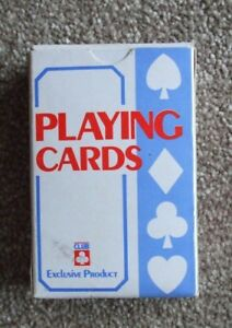 A PACK OF 52 PLAYING CARDS PLUS 2 JOKERS BY CLUB EXCLUSIVE PRODUCTS.NEW