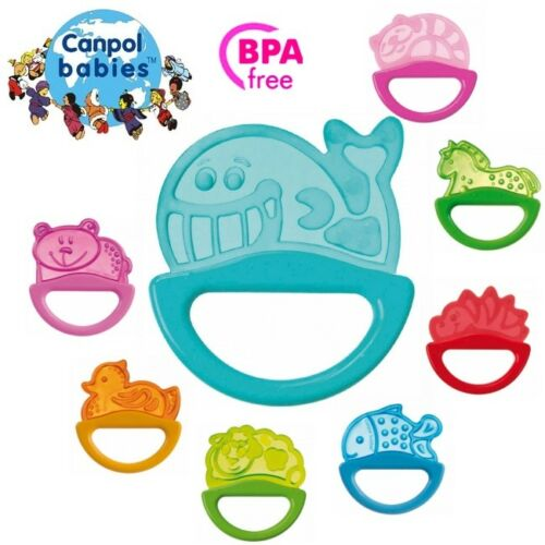 Light colour Rattle with soft bite teether Free Bpa Canpol Babies