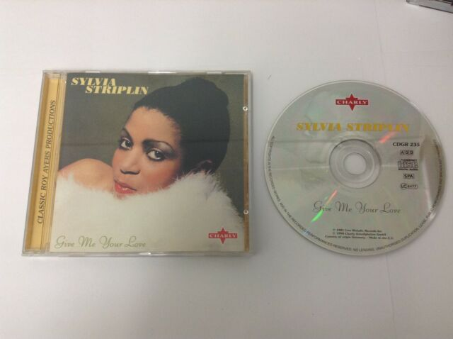 Give Me Your Love Sylvia Striplin CD - MINT