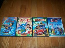 Walt Disneys Lilo and Stitch quadrilogy on DVD. 1, 2, Stitch! The Movie, Leroy &