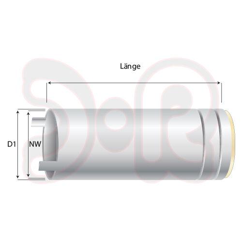 BINZEL Punktgasdüse NW Ø 18mm für Brenner MB 25