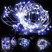20/50 LED Battery Operated LED Copper Wire String Fairy Light Xmas Party New F