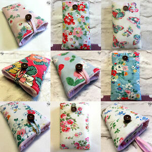 outlet store eb1e5 b089f Details about Deluxe iphone 4 5 6 7 8 Plus Padded Case Made in Cath Kidston  Fabrics
