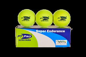 PT Pro Ultra Dura Platform Tennis Balls Cold Weather Winter Formula 3 pack