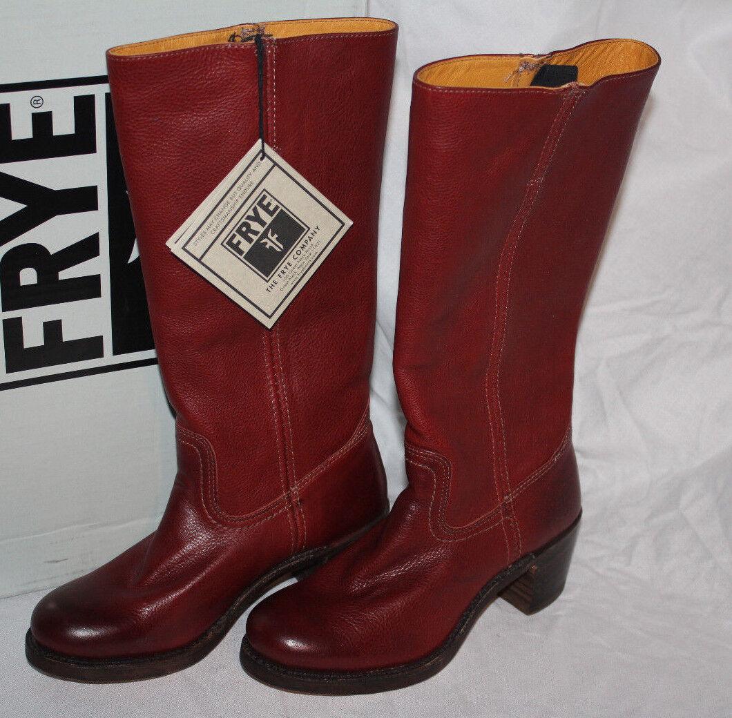 FRYE SABRINA 14L BURNT rouge    7.5us  369 59007f