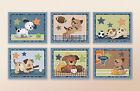 Bow wow Puppy Buddies Nursery/Kids/Baby Wall Art/ Bedroom Decor. Sports Dog Art