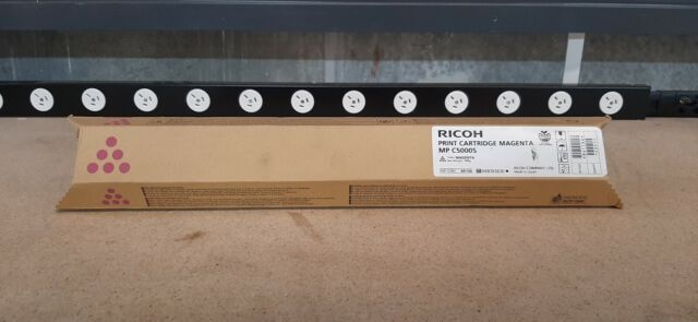 Genuine Ricoh MP C5000S Magenta Print Toner Cartridge