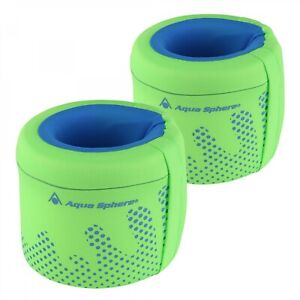 Aqua Sphere Enfants Brassards Veste De Sauvetage Bras Floats 3-6 An Vert