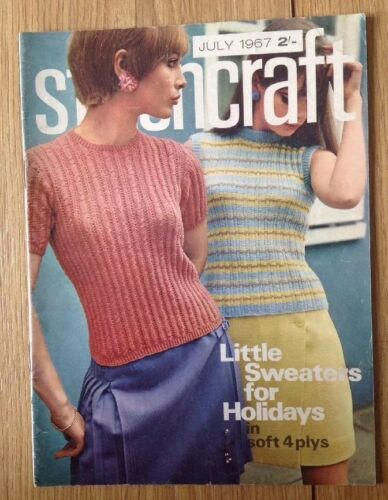 Vintage Stitchcraft Magazine July 1967