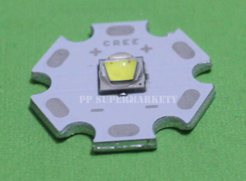 20mm Star Base PCB Cree XLamp XML L2 10W LED Emitter White Color