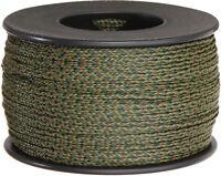 Atwood American Made nano Cord .75mm X 300 Feet, Woodland, Rg1113