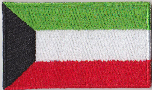 Kuwait Country Flag Embroidered Patch T4