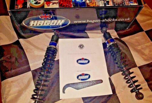 NEW In Box  HAGON TWIN SHOCKS BULTACO PURSANG ALPINA MATADOR VINTAGE AHRMA