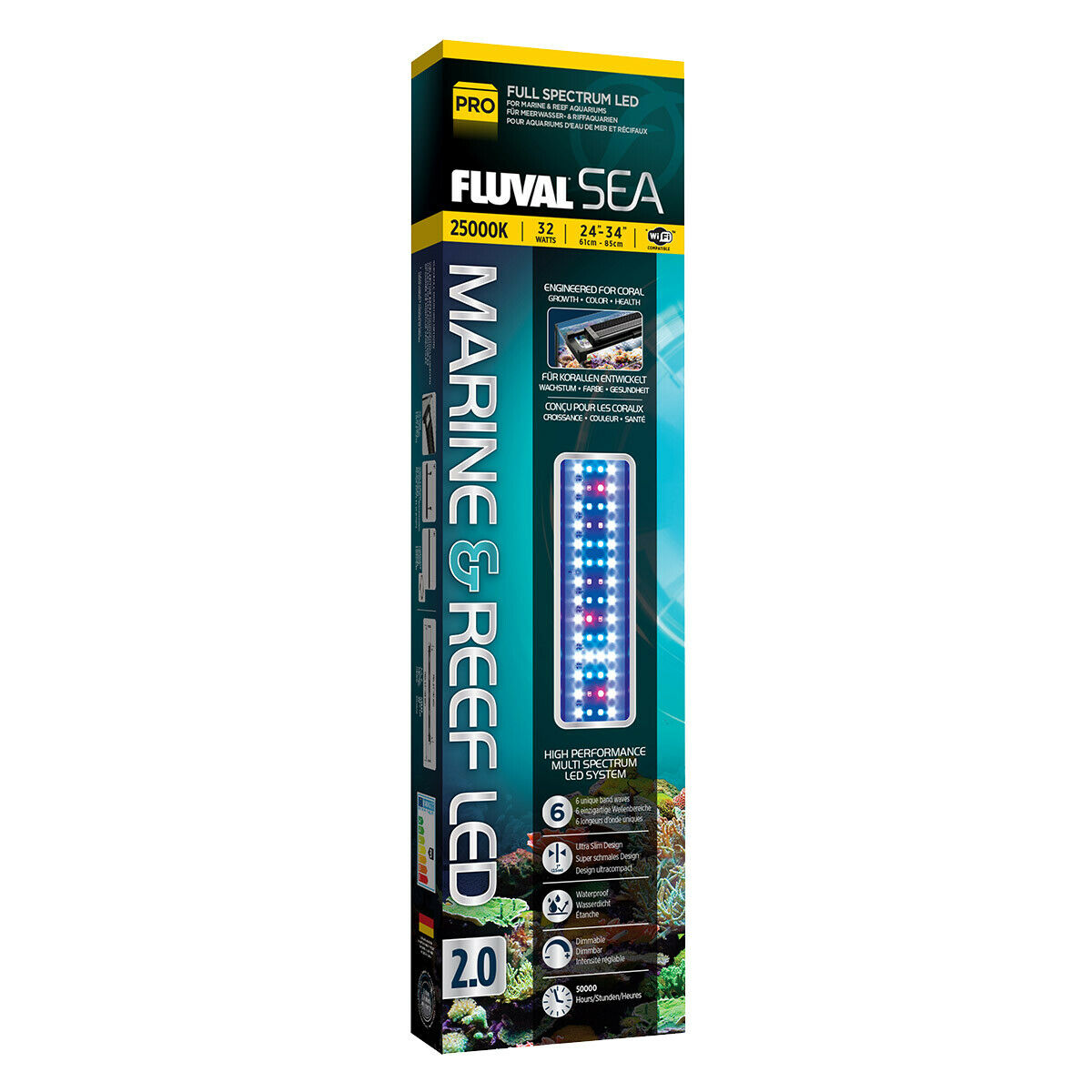 Fluval Sea LED Beleuchtung Marine & Reef