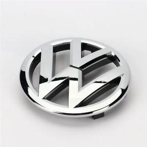 VW-Passat-B7-Touran-Caddy-frente-Emblema-Cromado-Insignia-de-rejilla-de-135mm-1T0853601E