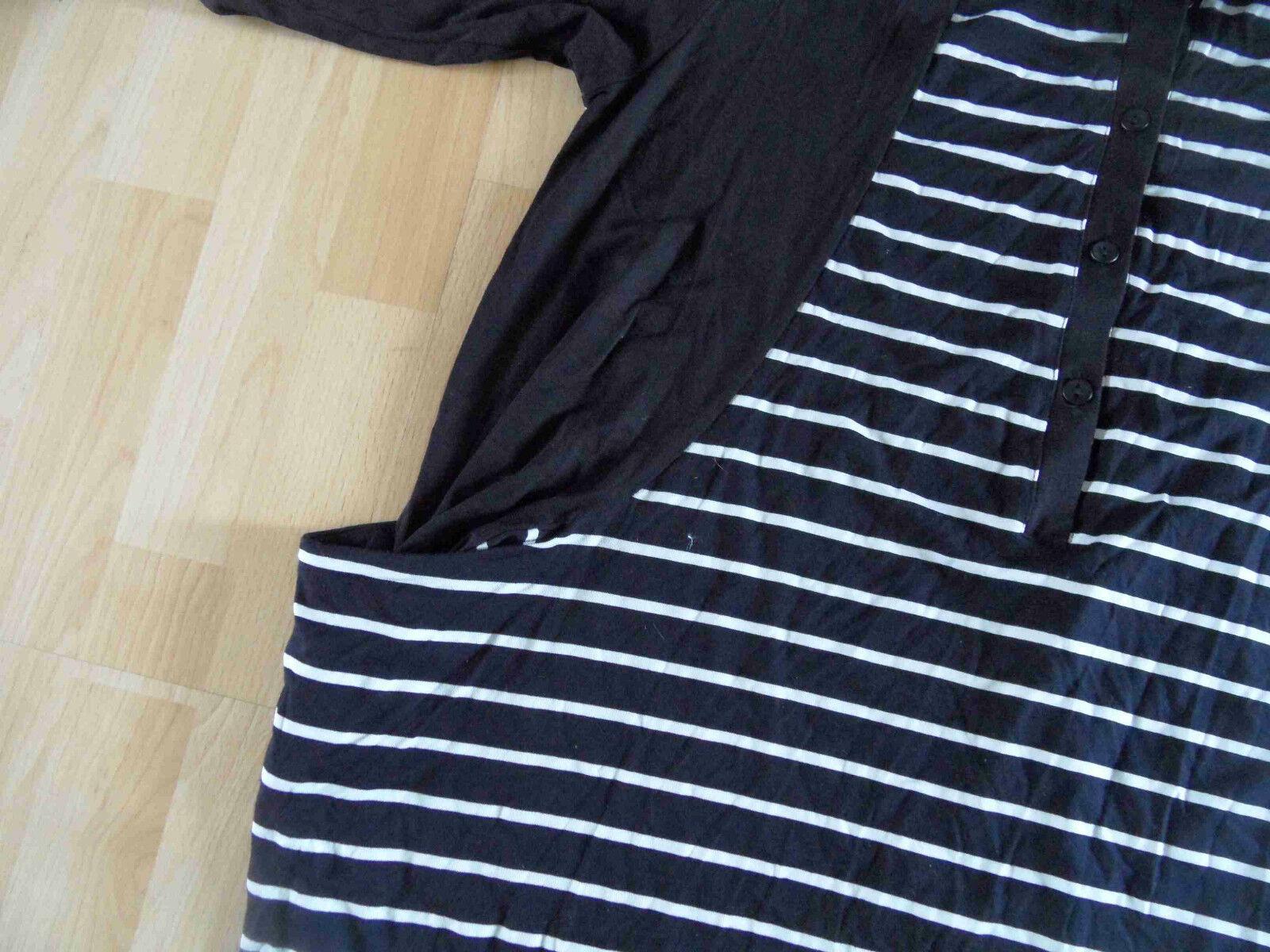 XADOO Lagenlook langes Tunika-Shirt schwarz weiß weiß weiß Gr. 2 NEU  (HMI 514) | Vollständige Spezifikation  | Meistverkaufte weltweit  | Spielen Sie Leidenschaft, spielen Sie die Ernte, spielen Sie die Welt  533e73