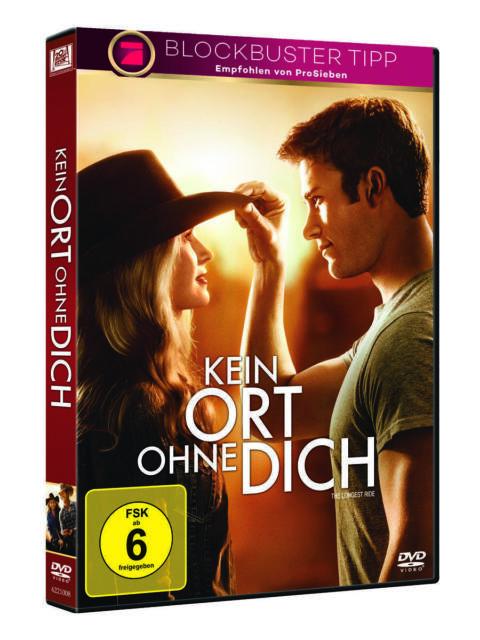 Kein Ort ohne dich (NEU/OVP/Inkl.Versand) Charmante Romanze nach Nicholas Sparks