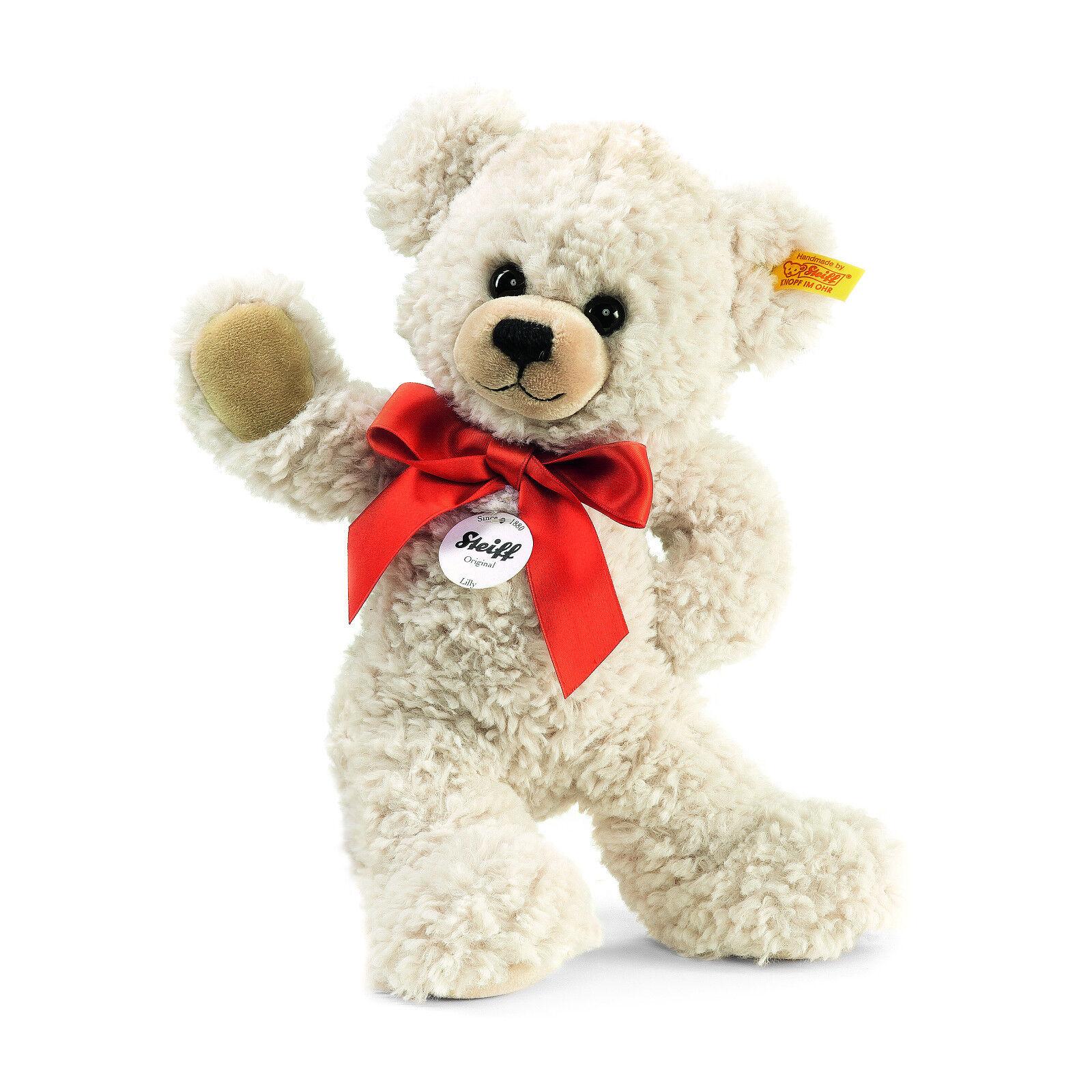 STEIFF® 111556 - Lilly Schlenker-Teddybär creme