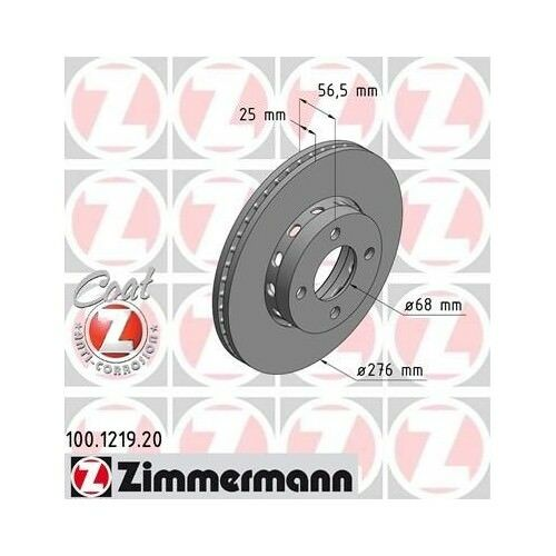 2x ZIMMERMANN Bremsscheiben AUDI COUPE 89 8B AUDI CABRIOLET 8G7 B4 AUDI 80 8C B4